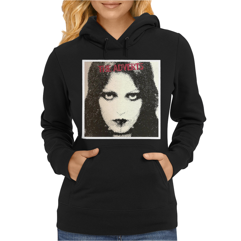The Adverts Womens Hoodie