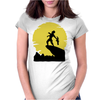 The Alien King Womens Fitted T-Shirt