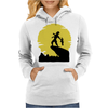 The Alien King Womens Hoodie