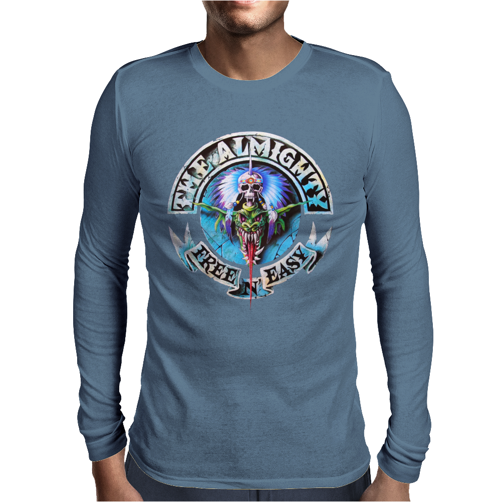 The Almighty Free N Easy Mens Long Sleeve T-Shirt