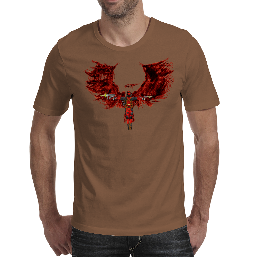 The Angel of Deadpool Mens T-Shirt