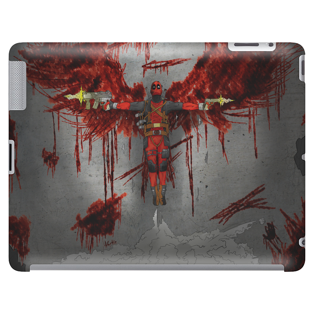 The Angel of Deadpool Tablet (horizontal)