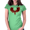 The Angel of Deadpool Womens Fitted T-Shirt