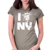 The Angels love NY Womens Fitted T-Shirt