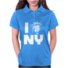 The Angels love NY Womens Polo