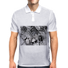The Archer - Sagittarius Astrological Zodiac Zentangle Mens Polo