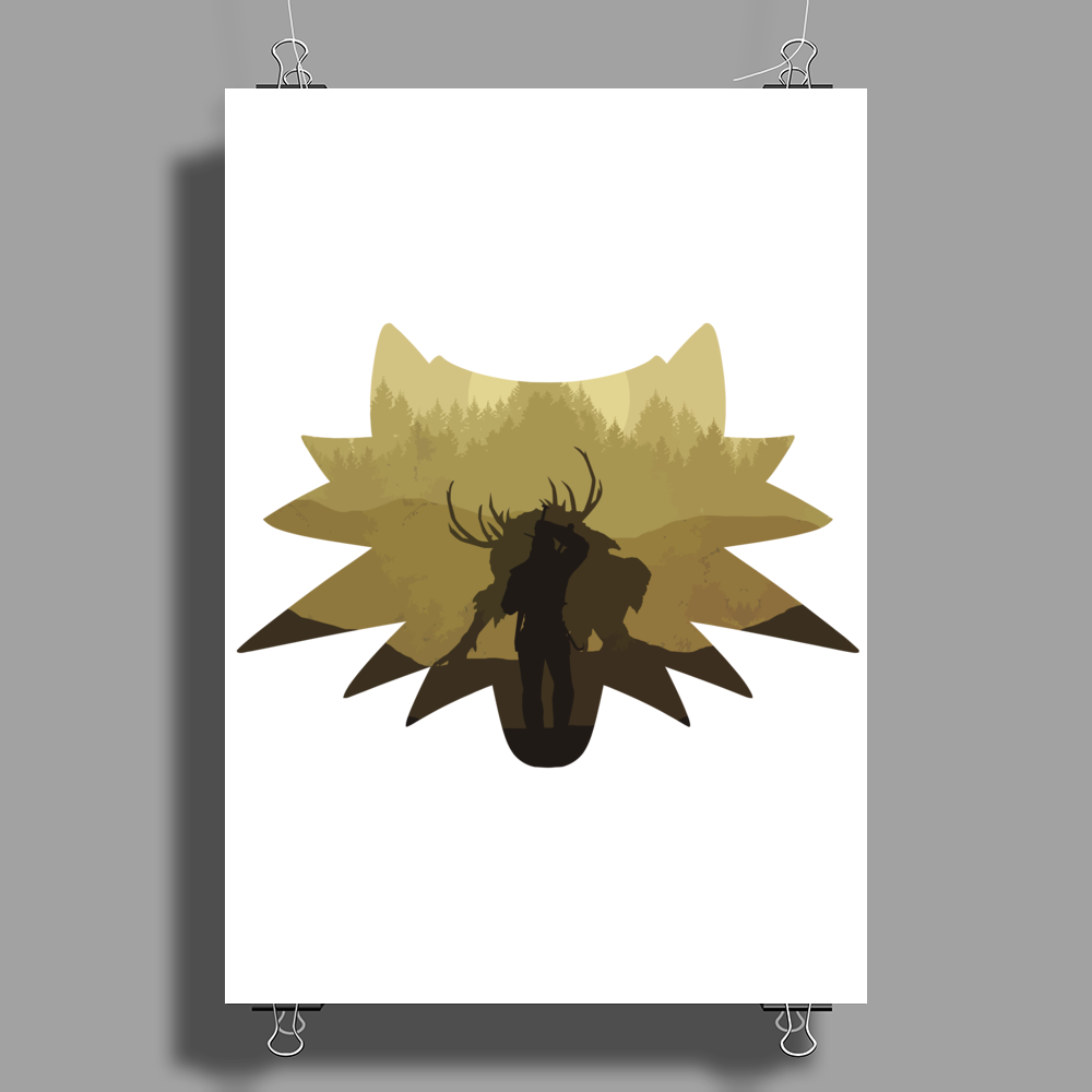 The Beast Hunt Poster Print (Portrait)