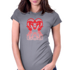 The Beast Womens Fitted T-Shirt