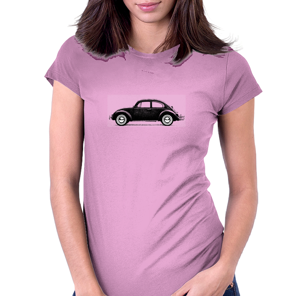 The Beetle Womens Fitted T-Shirt