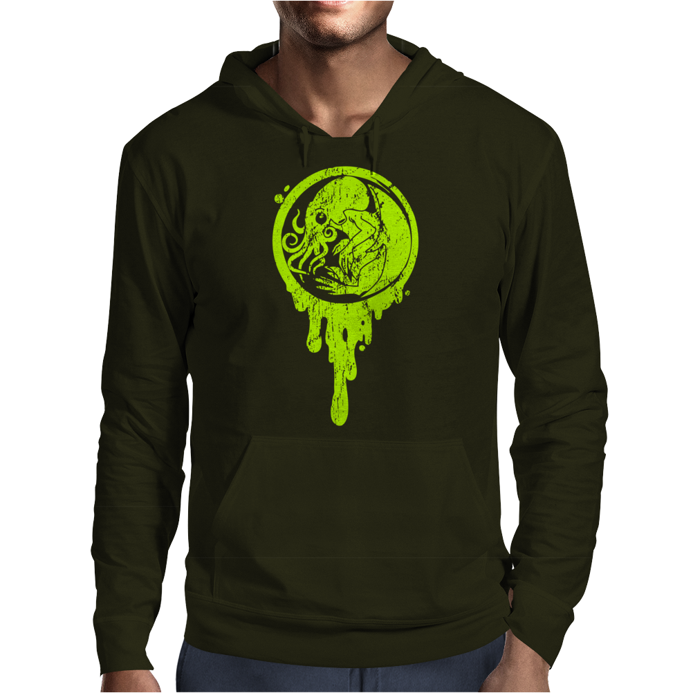The beginning of Cthulhu Mens Hoodie