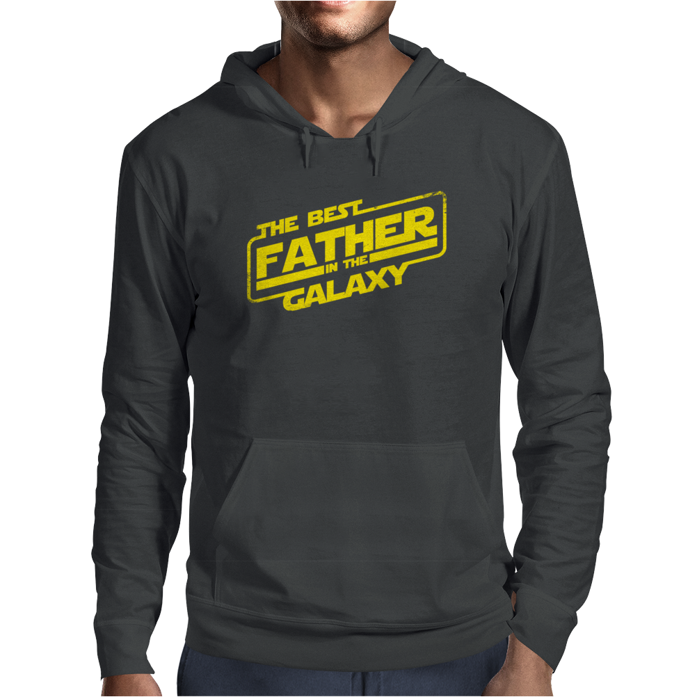 The best father in the galaxy Mens Hoodie