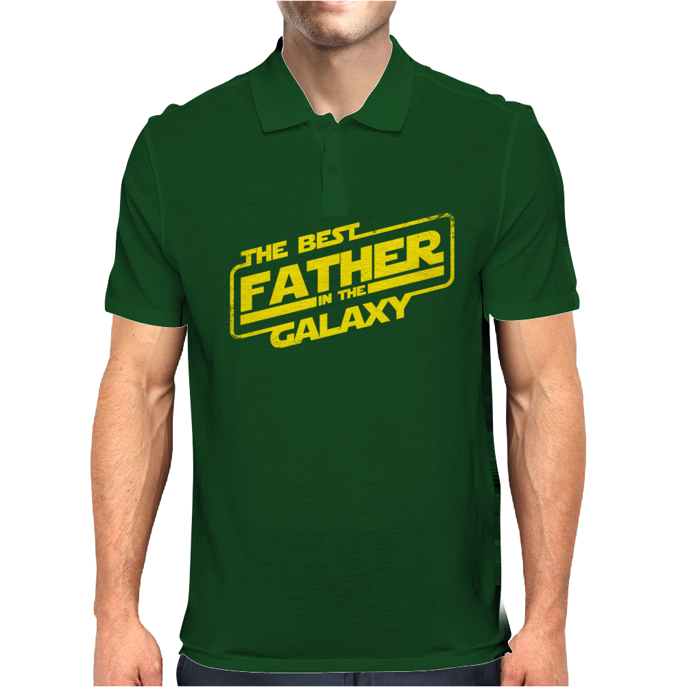 The best father in the galaxy Mens Polo
