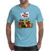 The Big Bang Theory Simpsonized - The Simpsons Parody - Big Bang Characters as Simpsons - BBT TBBT Mens T-Shirt