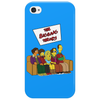 The Big Bang Theory Simpsonized - The Simpsons Parody - Big Bang Characters as Simpsons - BBT TBBT Phone Case