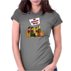 The Big Bang Theory Simpsonized - The Simpsons Parody - Big Bang Characters as Simpsons - BBT TBBT Womens Fitted T-Shirt