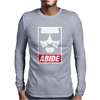 The Big Lebowski ABIDE Mens Long Sleeve T-Shirt