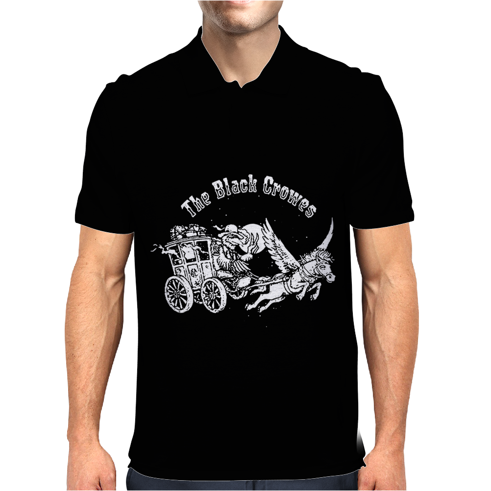 THE BLACK CROWES Mens Polo