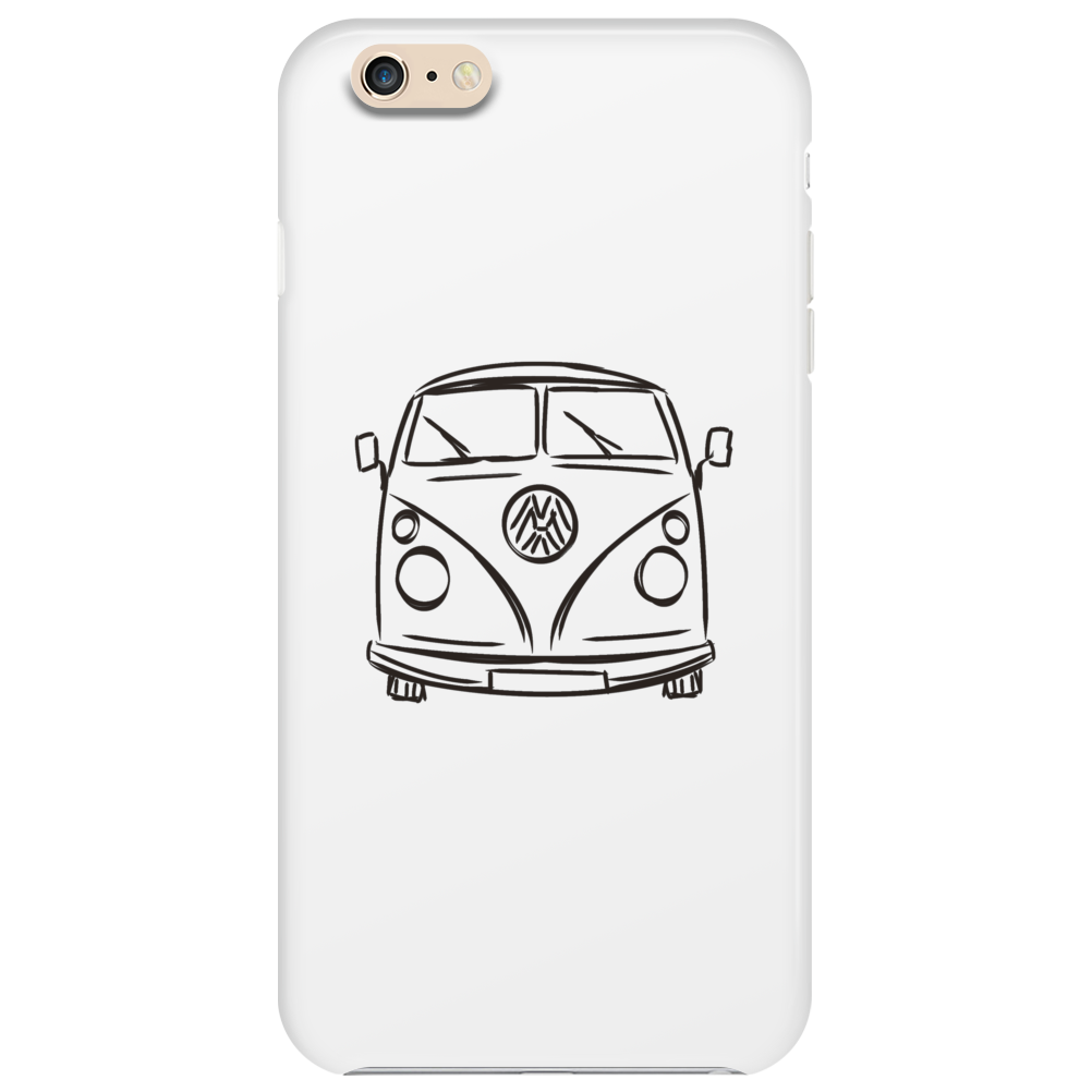 The Black Van Phone Case