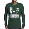 THE BLUES BROTHERS INSPIRED ON A MISSION FROM GOD FUNNY Mens Long Sleeve T-Shirt