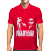 THE BLUES BROTHERS INSPIRED ON A MISSION FROM GOD FUNNY Mens Polo