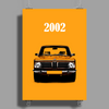 The BMW 2002 Poster Print (Portrait)