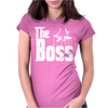 The Boss Gangster Funny Womens Fitted T-Shirt