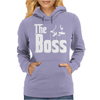 The Boss Gangster Funny Womens Hoodie