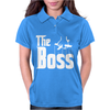 The Boss Gangster Funny Womens Polo