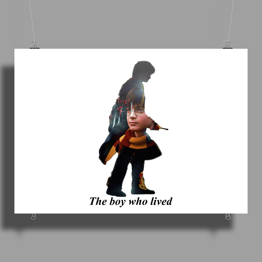 The boy who lived Poster Print (Landscape)