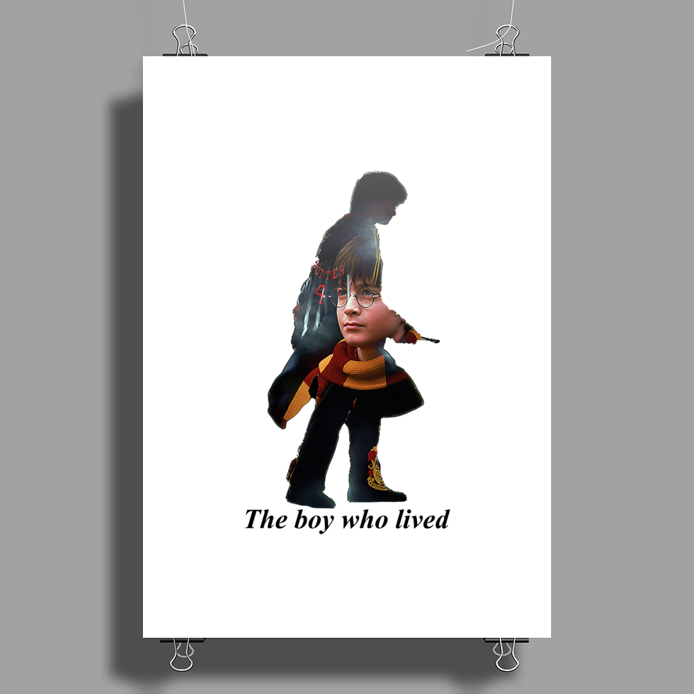 The boy who lived Poster Print (Portrait)