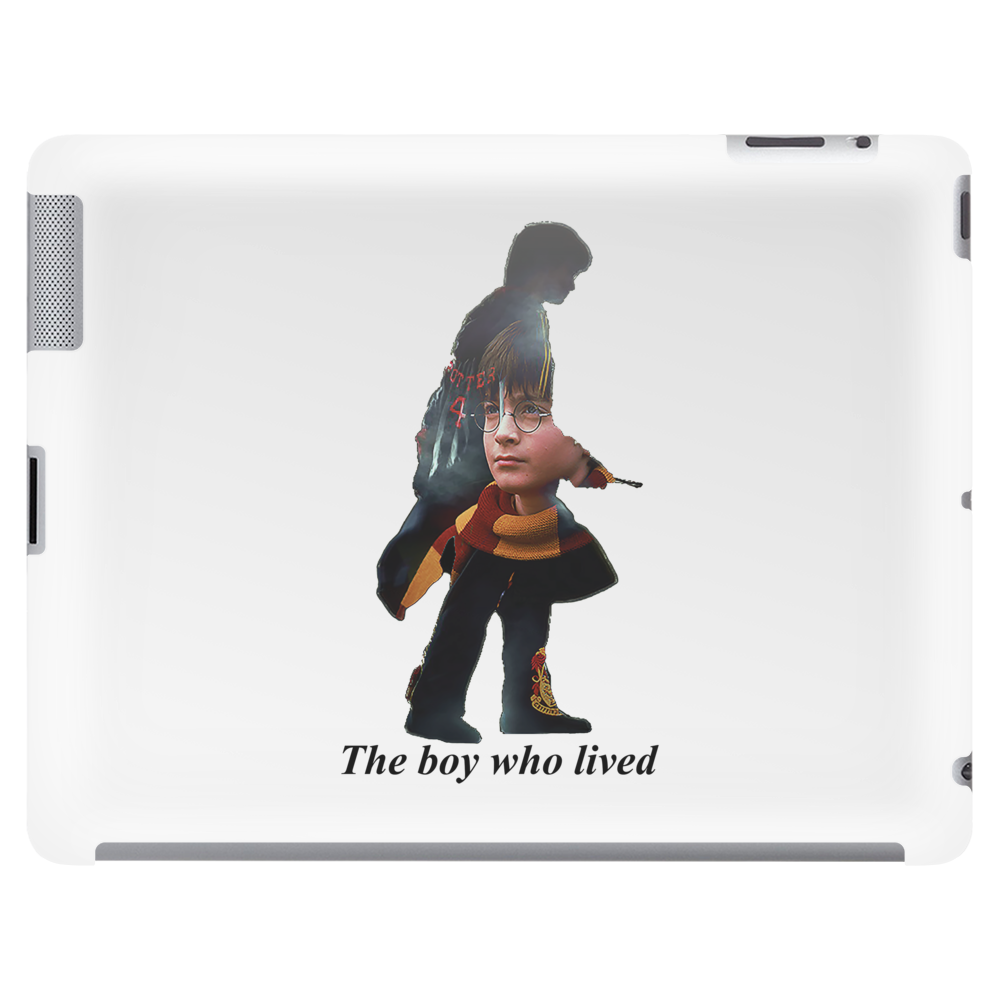 The boy who lived Tablet (horizontal)