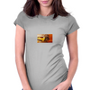 the burger lover Womens Fitted T-Shirt