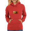 the burger lover Womens Hoodie