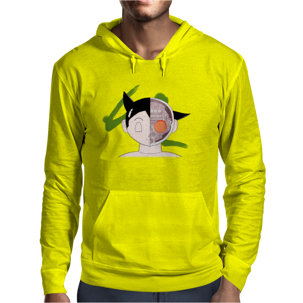 The bust of Astro Boy Mens Hoodie