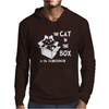 The Cat In The Box Mens Hoodie