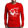 The Cat In The Box Mens Long Sleeve T-Shirt