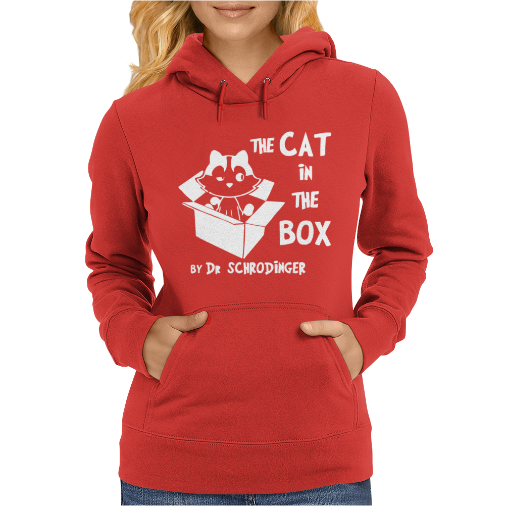 The Cat In The Box Womens Hoodie