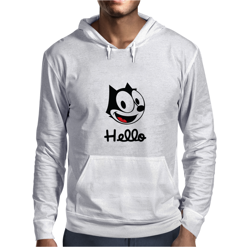 The cat named felix Mens Hoodie