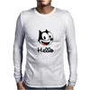 The cat named felix Mens Long Sleeve T-Shirt