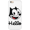 The cat named felix Phone Case