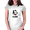 The cat named felix Womens Fitted T-Shirt