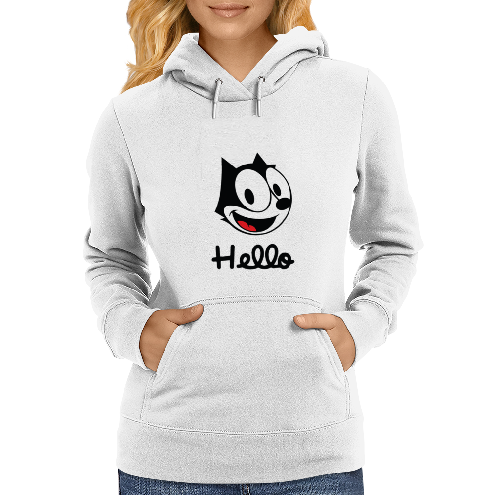 The cat named felix Womens Hoodie