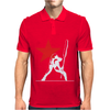 The Clash Inspired Long Sleeve Mens Polo