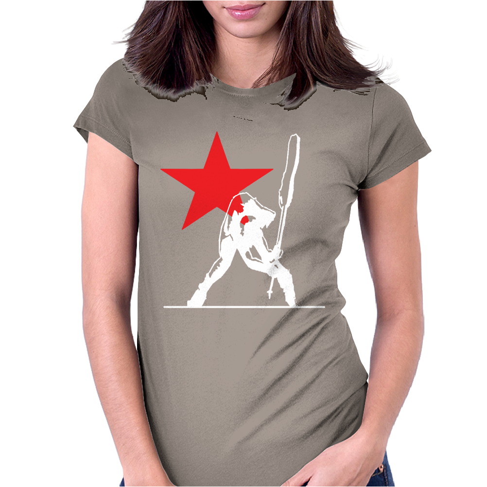 The Clash Inspired Long Sleeve Womens Fitted T-Shirt
