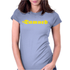 The Damned Punk Womens Fitted T-Shirt