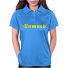 The Damned Punk Womens Polo
