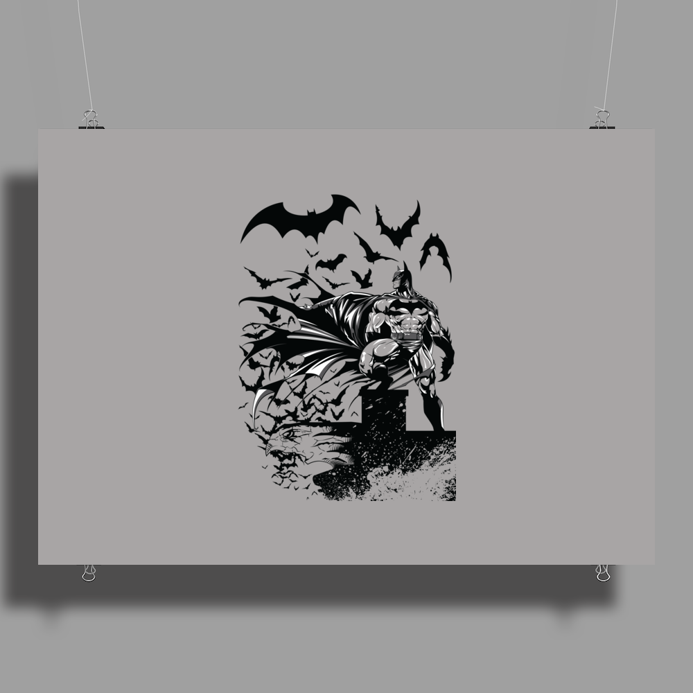 THE DARK KNIGHT Poster Print (Landscape)