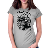 THE DARK KNIGHT Womens Fitted T-Shirt