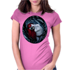 the dark side of my mind hurts by Rouble Rust Womens Fitted T-Shirt