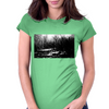 the dark side of the forest. Womens Fitted T-Shirt